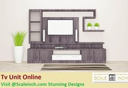 TV Unit Online - Starting From 10k