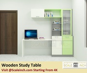 Wooden Study Table - Starting From 4K