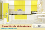 L Shaped Kitchen Interior Design - Extra 10% Off