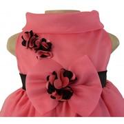 Onion Pink Organza Birthday Dress
