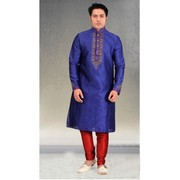 Party Wear Blue Kurthas From Gergstore With 25% Off