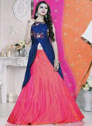South Indian Lehenga choli online shopping | Designer Lehenga Saree