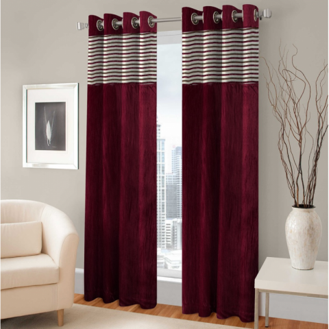 Home Furnishing Door Curtain Set With 50% Off