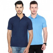 Pack Of 2  Men's Cotton T-shirt With 50% Off