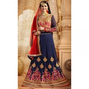 Blue Party Wear Lehenga Choli with 30% Off