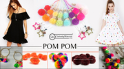 Colored Craft Pom Poms Bulk | small pom poms Wholesale