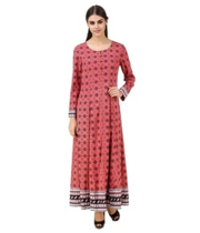 Get Women Full Sleeve Round Necked Dress Online in Shoppyzip