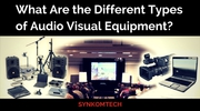Audio visual having different types of conferencing equipment | Synkom
