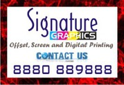 Signature Graphics offers personalised printed T-shirt | cap | coffee