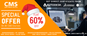 FLAT 60 % on all CAD,  AutoCAD,  CATIA,  CREO Courses in Bengaluru,  RT Na