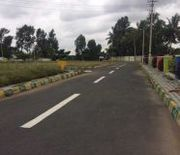 30x40 EastNorth Commercial Corner Site For Sale in Ullal MainRoad