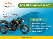 Two wheelers yearly maintenance in Bangalore | Flyer Tech