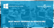 Best windows server 2016 training and certification in bangalore