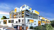2/3 bhk apartments starting price at 48 lakhs