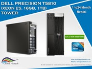 Rent Dell Precision T5810 workstation with Nvidia M2000 (4GB),  P2000 (