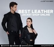 Save Money with stylish Leather Jackets for Men