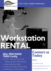 Dell precision T5810 workstation rental| Entry –level workstation rent