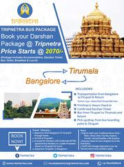 Tirupati Tour Packages and Online Booking Hotels in India