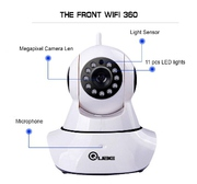 360 Auto-Rotating Wireless CCTV Camera (Lowest Price Online)