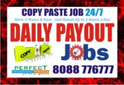 Online Copy paste job No Investment fee | No Registration Fees