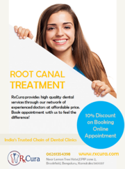Root Canal Treatment In Bangalore at Affordable Price