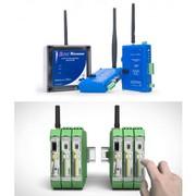 Wireless on board train networking in India