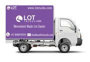 Hire Mini Truck for Rent - +91 8088939393