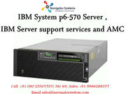 IBM System p6- 570 Server|IBM Server support services and AMC