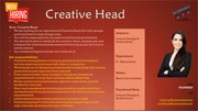 Immediate Hiring for a Creative Head