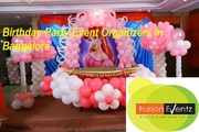 Fusion Eventz - Birthday Party Event Organizers in Bangalore