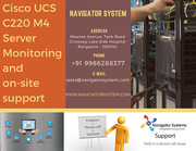 Cisco UCS C220 M4 server| Cisco Server Monitoring and on-site support.
