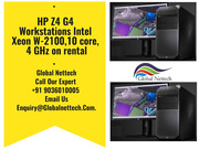 HP Z4 G4 Workstations Intel Xeon W-2100, 10 core,  4 GHz on rental