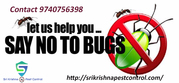Bed Bug Pest Control Services In Yelhanka - sri krishna pest control