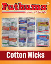 Invite Distributors for marketing PUTHUMA Brand Cotton Wicks for Diya