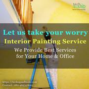 Painting service for a perfect interior walls in Bangalore
