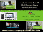 Dell Precision  T7820 Dual Xeon silver 4116-12 core on rental