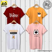 Online Shopping Of T Shirt & Phone Cover at Beyoung