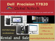 Dell T7820 with Intel Xeon Gold 6154 , 128GB Ram available on rental