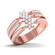 Buy Heart Shaped Diamond Jewellery Online | Buy Masum Diamond Ring