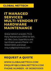 IT Managed Services |Multi-vendor IT hardware maintenance