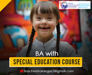 BA with Special Education course