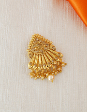 Now get an Exclusive hair brooch at Anuradha Art Jewellery