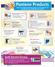 Pantone Product Suppliers