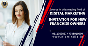 Digital marketing Franchise  with NIDM INDIA