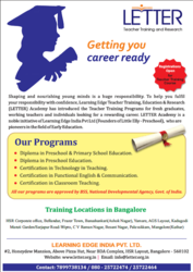Diploma in Preschool Education in Bangalore