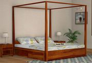 Buy Modern Beds in Bangalore at Low Price - Wooden Street