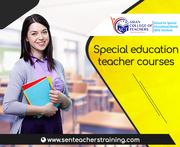 Special education teacher courses