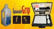 Iguanagrip for slippery problems in floors.