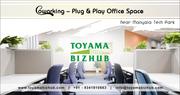 Coworking Space near Manyata Tech Park for Startups