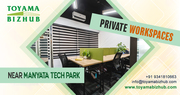 Shared Working Space for Startups near Manyata Tech Park